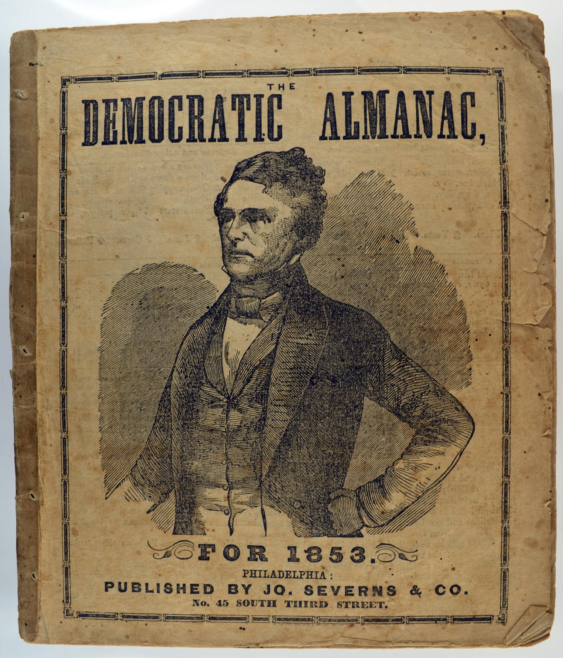 1853 Democratic Almanac
