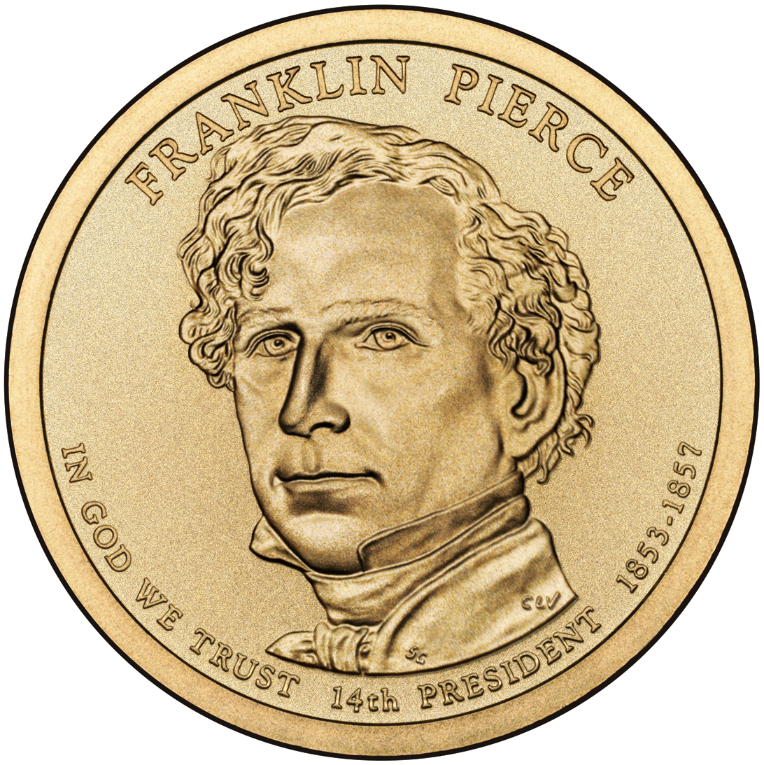 Pierce golden dollar