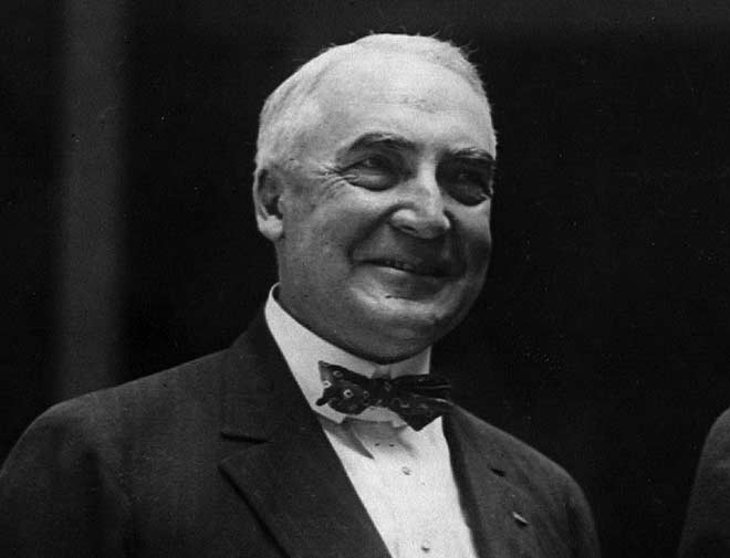 a biography of warren gamaliel harding an american president Just 10 years ago, marsha stewart, an african-american schoolteacher claiming to be a fifth cousin of harding's, published a book, warren g harding us president 29: death by blackness.