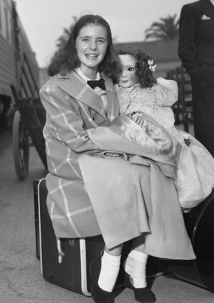 Margaret with doll