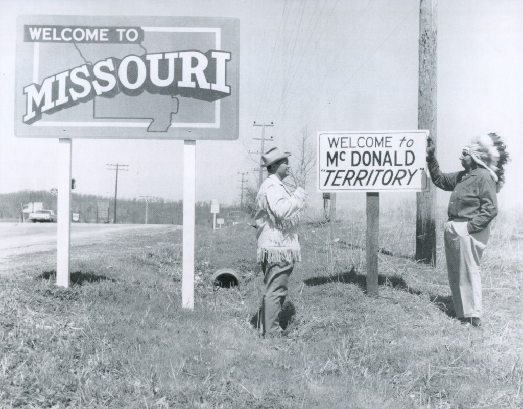 McDcDonald Territory sign