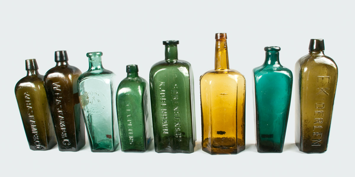 colored-glass-bottles